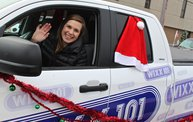 WIXX @ The Green Bay Holiday Parade 2012 2