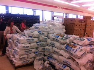 Potato donation for Feeding Branch County