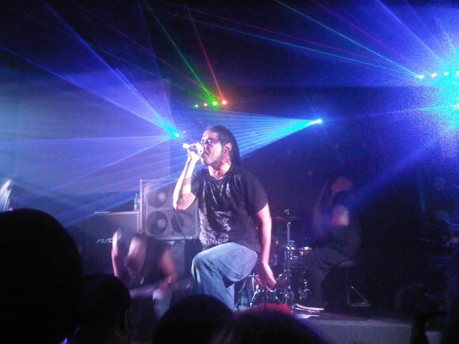 Mic Wendorf of Weston sent in this pic of Elias from Nonpoint