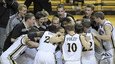 2012-2013 WMU men's basketball team. Photo courtesy of wmubroncos.com