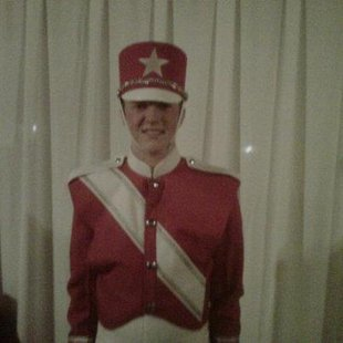 Coldwater's Tanner Holbrook in Macy's Great American Marching Band uniform