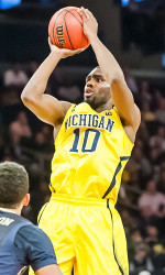 University of Michigan's Tim Hardaway Jr.