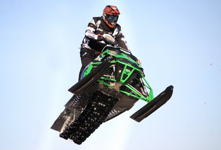 Snocross rider