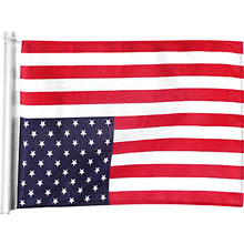 Upside down American flag