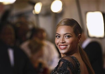 "Singer Beyonce Knowles arrives at the Metropolitan Museum of Art Costume Institute Benefit celebrating the opening of ""Schiaparelli and Prad"