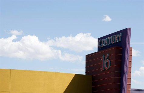 The Century 16 movie theater where 12 were killed and dozens injured on July 20, 2012, is pictured in Aurora July 26, 2012. REUTERS/Rick Wil