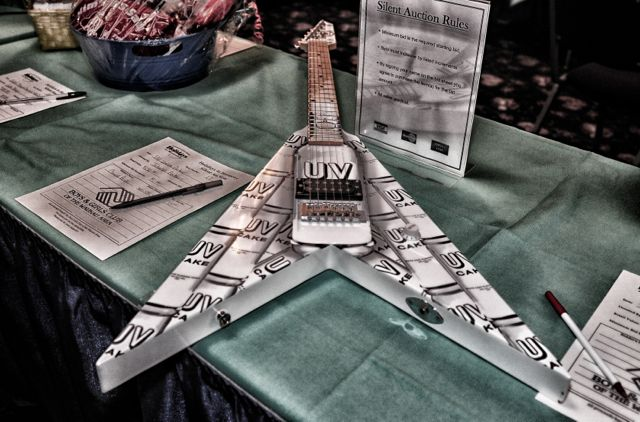 Auction item..a vodka guitar..wow!!!