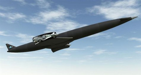 A Skylon in flight with a cutaway of the SABRE engine, in an illustration courtesy of Reaction Images Ltd. A small British company with a dr