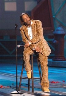 Comedian Katt Williams performs during the taping of the BET Comedy Awards at the Pasadena Civic Auditorium in Pasadena, California, Septemb