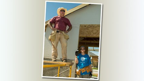 Image courtesy of George Hipple/Habitat for Humanity International (via ABC News Radio)