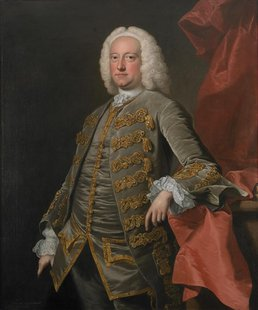Charles Jennens is seen in a 1740-49 oil painting by Thomas Hudson. Handel House Museum in London is staging an exhibition on librettist Cha