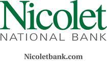 Nicolet Bank logo.