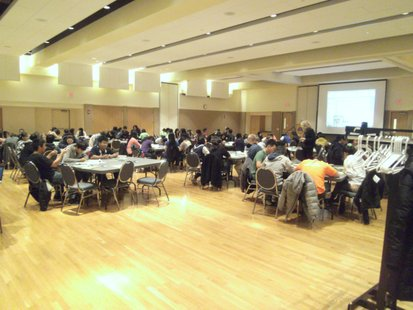UWSP Laird Room during Superintendent's Youth Summit on Learning and Education 11/28/12.