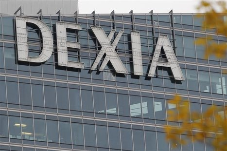 The Dexia tower is seen in La Defense, near Paris, November 8, 2012. Belgium and France will pay 5.5 billion euros ($7 billion) to take almo