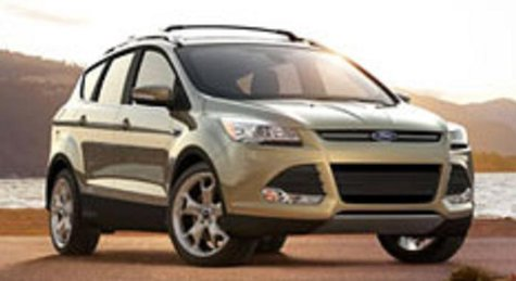 Ford Escape, one of the vehicles being recalled for engine fires