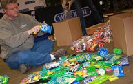 Maino Stockpiles Treats For Troops to Send Overseas - And Gets Some Help From Neenah 9