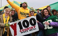 Y100 Tailgate Party at Brett Favre's Steakhouse :: Packers vs. Vikings 9