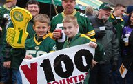 Y100 Tailgate Party at Brett Favre's Steakhouse :: Packers vs. Vikings 8