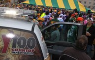 Y100 Tailgate Party at Brett Favre's Steakhouse :: Packers vs. Vikings 4