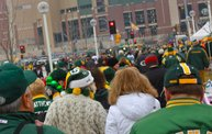 Y100 Tailgate Party at Brett Favre's Steakhouse :: Packers vs. Vikings 24