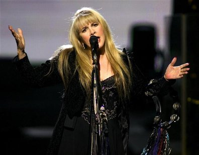 "U.S. recording artist Stevie Nicks performs the song ""Enchanted"" during a show at The Colosseum at Caesars Palace in Las Vegas, Nevada, May"