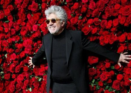 Spanish director Pedro Almodovar attends the Museum of Modern art's fourth annual Film Benefit in New York November 15, 2011. REUTERS/Kena B