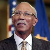 Detroit Mayor Dave Bing listens during a news conference at the Chrysler Mack I auto plant in Detroit, Michigan November 15, 2012. REUTERS/R