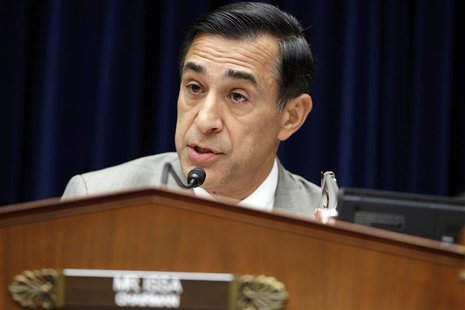 "Congressman Darrell Issa (R-CA), chairman of the House Oversight and Government Reform Committee, speaks during ""The Security Failures of Be"