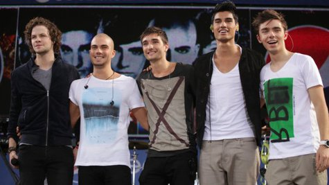 Image courtesy of The Wanted; Max George, 2nd from left; ABC/Fred Lee (via ABC News Radio)