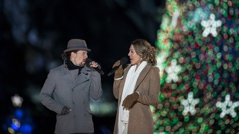Image courtesy of Jason Mraz & Colbie Caillat; Brendan Smialowski/AFP/Getty Images (via ABC News Radio)