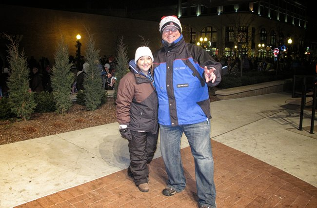 Stacy Cole & I have hosted the Wausau Area Events Holiday Parade for years..love, love, love to do this gig!!