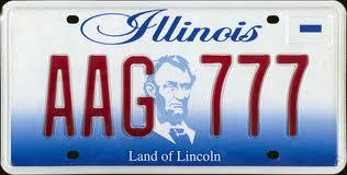 Illinois Plate