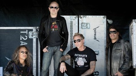 Image courtesy of Facebook.com/Metallica (via ABC News Radio)
