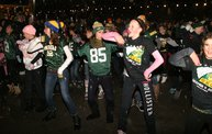 Lambeau Field Flash Mob @ The Packers' Tundra Tailgate Zone with WIXX 8