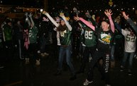 Lambeau Field Flash Mob @ The Packers' Tundra Tailgate Zone with WIXX 7