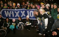 Lambeau Field Flash Mob @ The Packers' Tundra Tailgate Zone with WIXX 4