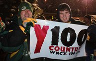 Y100 Tailgate Party at Brett Favre's Steakhouse :: Packers vs. Lions 12
