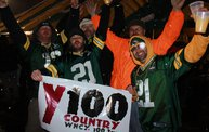 Y100 Tailgate Party at Brett Favre's Steakhouse :: Packers vs. Lions 6