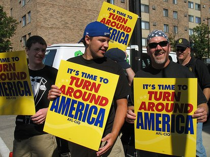 Union Protestors