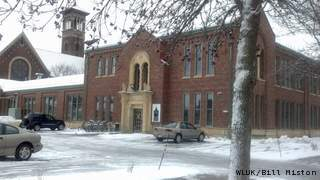 St. John the Evangelist Homeless Shelter in Green Bay, Monday, December 10, 2012. (courtesy of FOX 11).