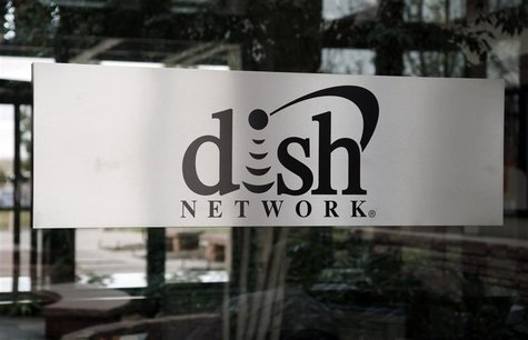 The sign in the lobby of the corporate headquarters of Dish Network is seen in the Denver suburb of Englewood, Colorado April 6, 2011. REUTE