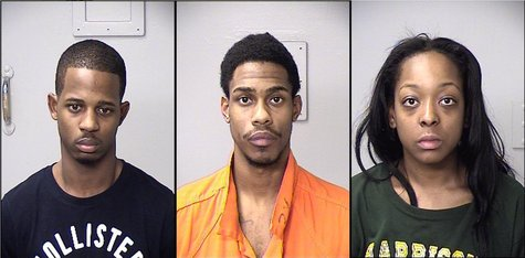 Antoine Bernard Cantrell, Ryan Donnell Hattaway, and Jocelyn LaShawn Walker have been arrested in connection with several crimes in the Kalamazoo area.