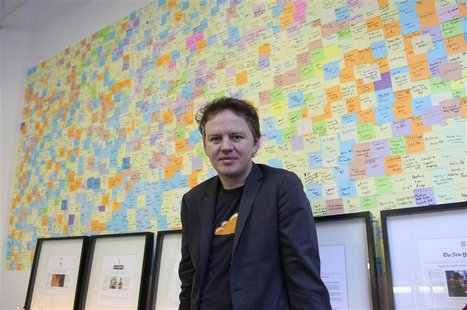 Matthew Prince, chief executive at an internet start-up company called CloudFlare, poses in his office in San Francisco December 10, 2012. F