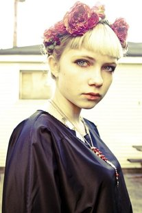 Teenage writer, fashion blogger and editor Tavi Gevinson is shown in a recent handout photo. Gevinson has accomplished more in her 16 years