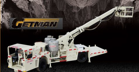 This is the sort of specialized equipment Getman manufactures for use in underground mines.