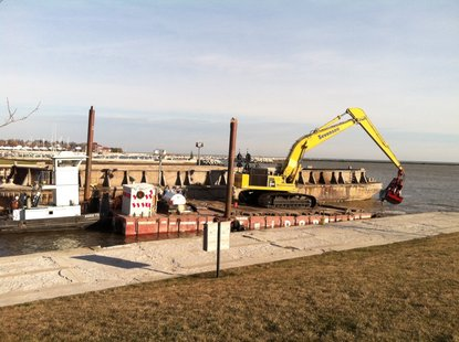 River dredging nears completion