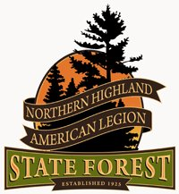 American Legion State Forest symbol (courtesy of the DNR).