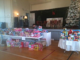 Toys for Toys at Eby Klein Youth and Family Center, Coldwater