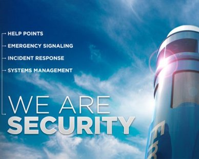 "Code Blue's ""We Are Security"" Program"