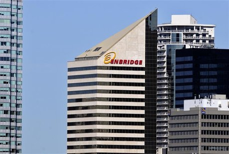 The Enbridge Tower on Jasper Avenue in Edmonton August 4, 2012. REUTERS/Dan Riedlhuber